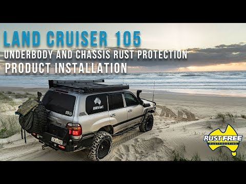 Land Cruiser 105 4WD Underbody Rust Protection Application By RustFree