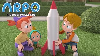 ARPO The Robot For All Kids - Big Red Rocket | Compilation | Cartoon for Kids