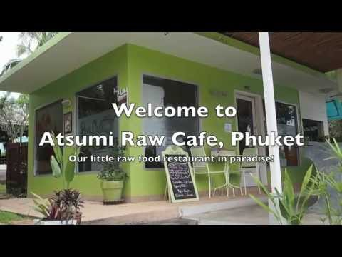 Our little Raw Food Cafe in paradise - Rawai Phuket 2013
