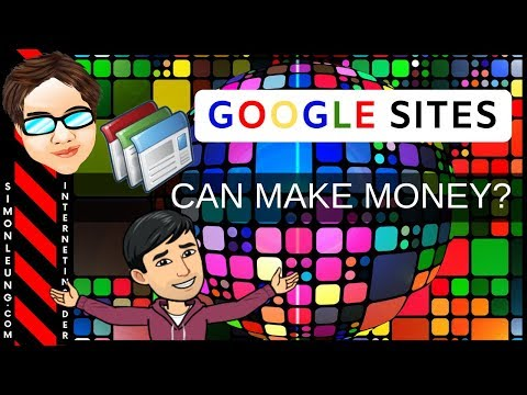 How To Make Money With Google Sites