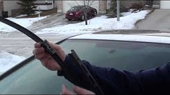 How To Replace 8th Generation (2010) Honda Civic Wiper Blade Inserts