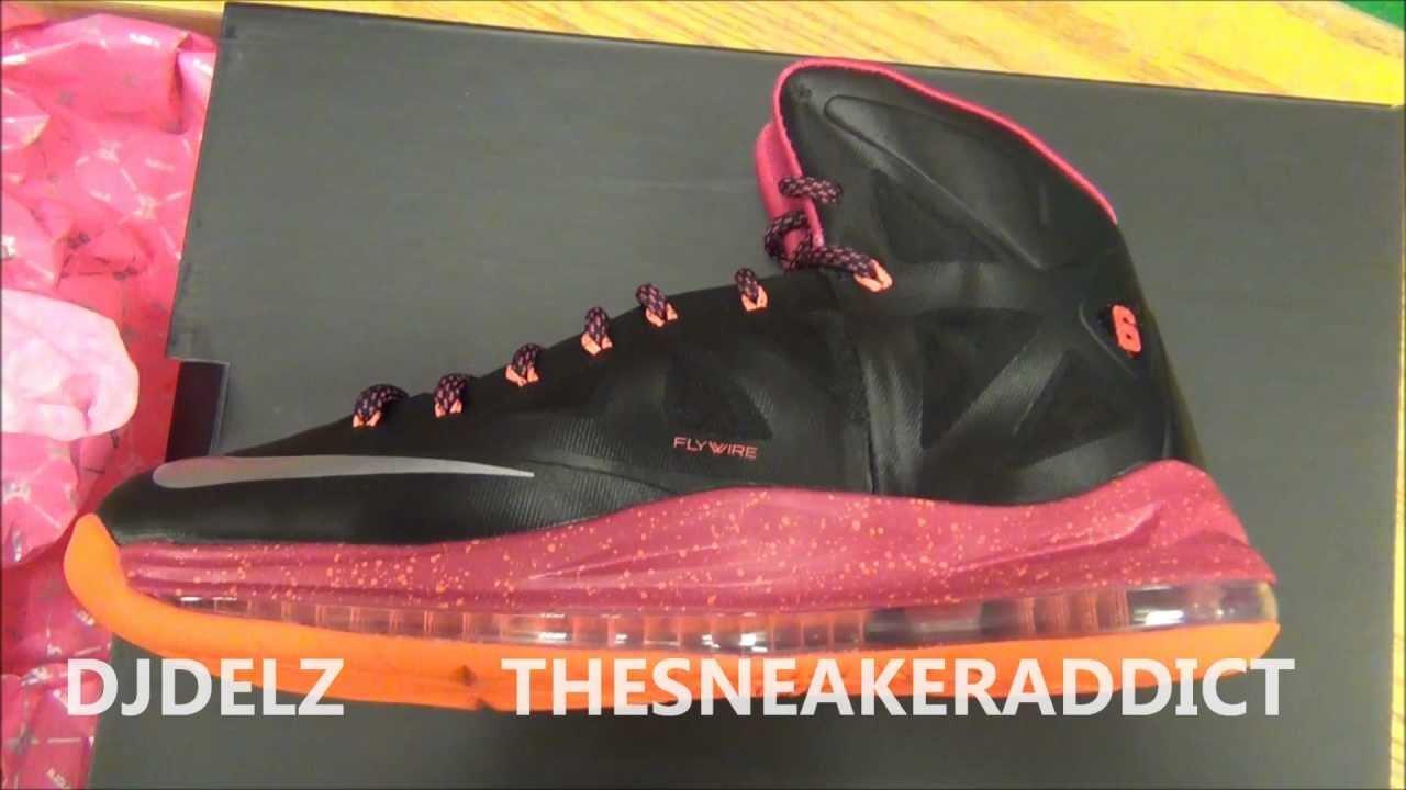 low priced d3295 bbb47 Nike LeBron 10 X Miami Floridian
