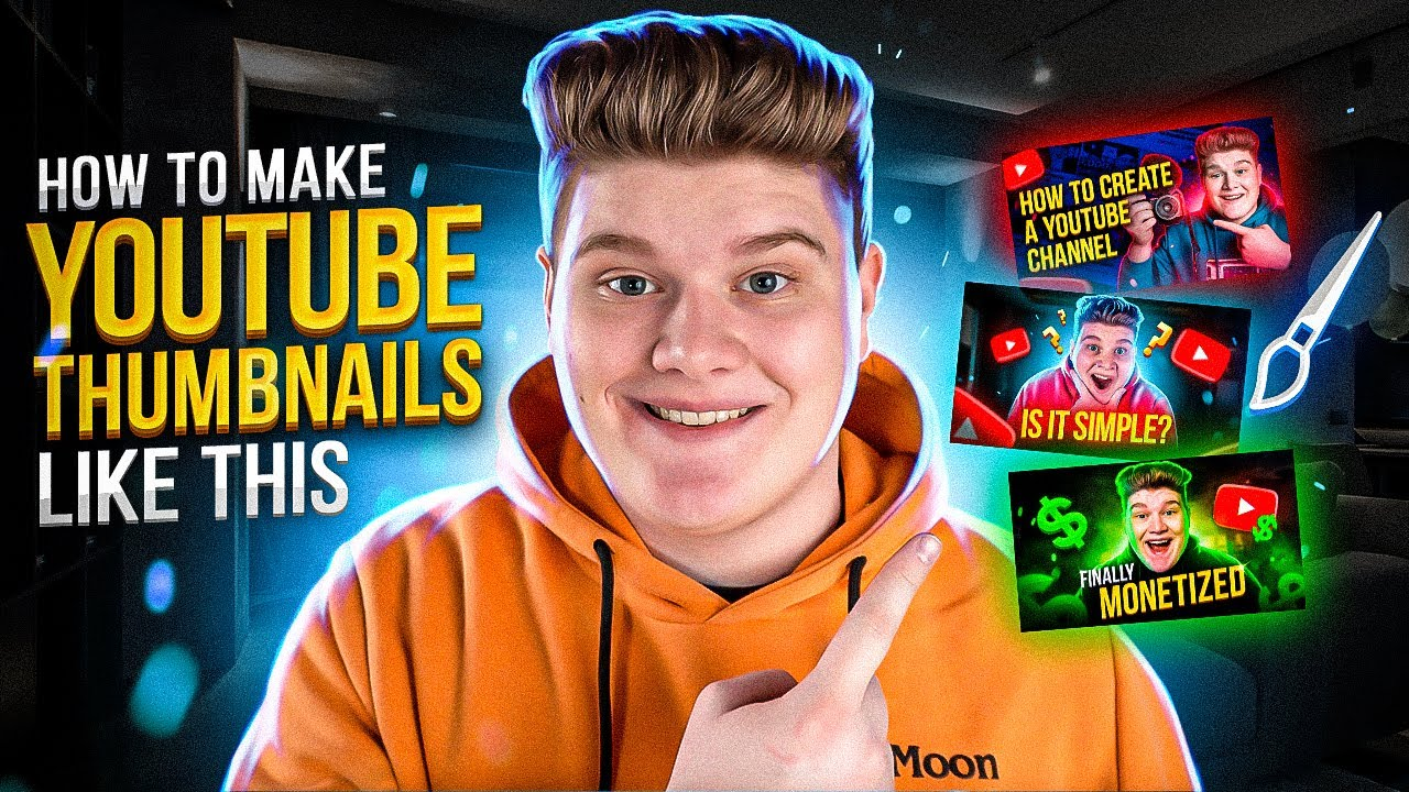 Download How to Make a Thumbnail for YouTube Videos with Glow Effect: Quick and Easy tutorial for Beginners
