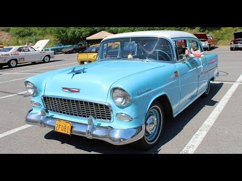 1955 chevrolet bel air 4 door for sale doovi for 1955 chevy 4 door for sale