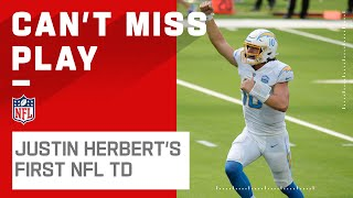 Justin Herbert Leads Chargers on TD Drive in NFL Debut!
