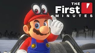 The First 20 Minutes of Super Mario Odyssey