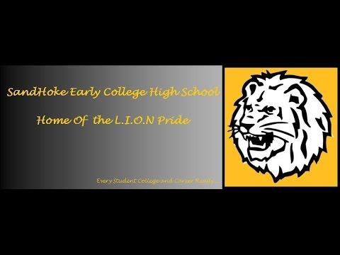 SandHoke Early College High School - Graduation 2015