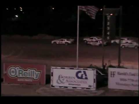 Texas Thunder Speedway November 2, 2012 IMCA Stock Car A-Qualifier