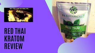 Red Thai Kratom Review: Using Kratom for Fibromyalgia and Chronic Fatigue Syndrome