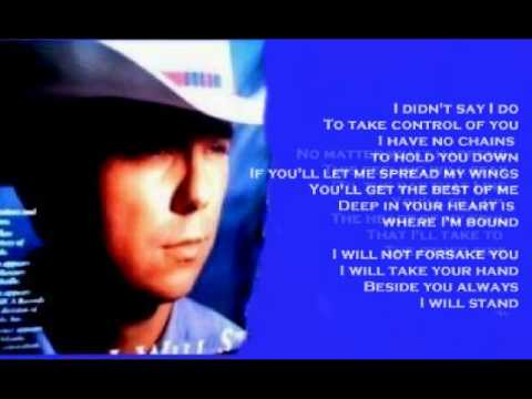 Kenny Chesney  I Will Stand  + lyrics 1997