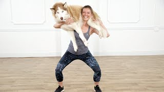 Squat Your Dog Fitness Challenge   Class FitSugar