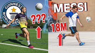 How Difficult is Lionel Messi's World Record? - Can We Break Records without Practice?