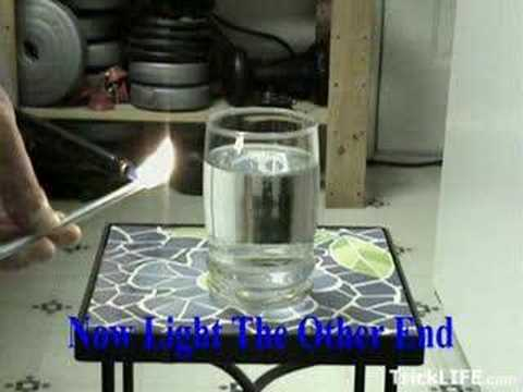 How to turn water into ice in seconds