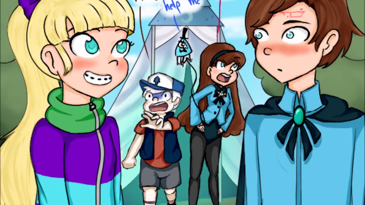 Reverse Falls Wallpaper Dipper And Pacifica Reverse Comic 7 Youtube
