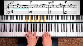 BOSSA NOVA PIANO LESSON