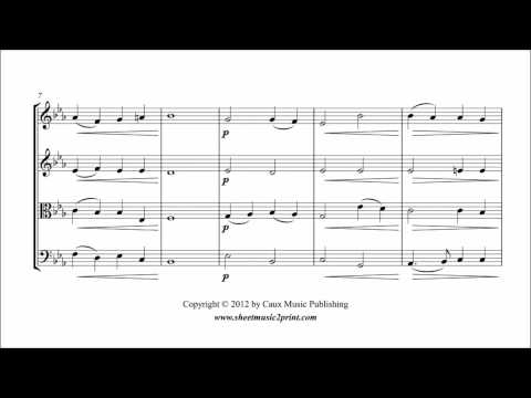 Abide With Me - String Quartet