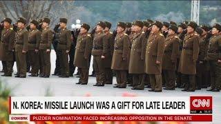 North Koreans praise missile test despite sanctions