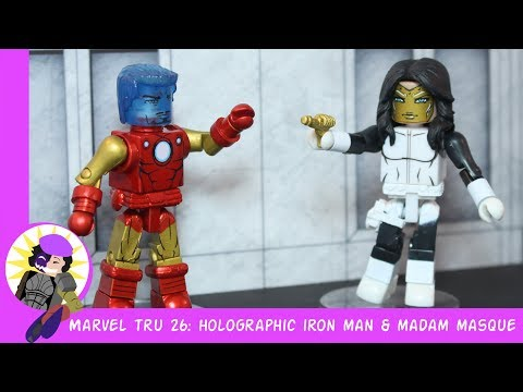 Minimates Marvel Toys R Us Wave 26 Holo Iron Man And Madame Masque Review