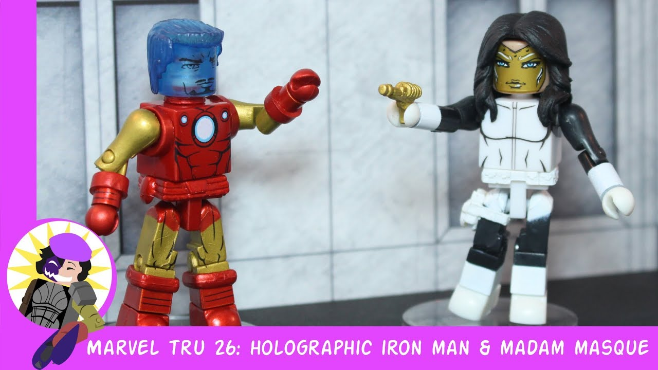 Marvel Minimates TRU Toys R Us Wave 14 Iron Man