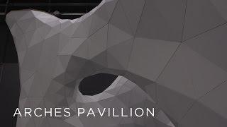 WOOD-SKIN | Arches pavillion