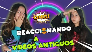 WE REACTED TO OUR FIRST VIDEOS * HOW SMALL * 😅 Mellizas Channel