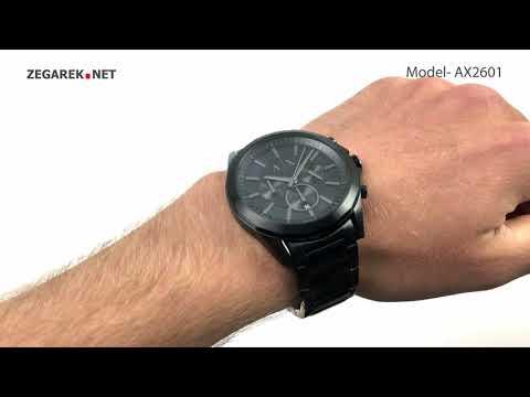 Armani Exchange Fashion AX2601 DREXLER - Zegarek.net