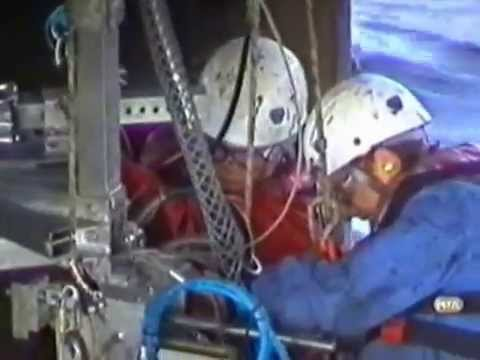 Rope Access Job Offshore with Tom Rigg