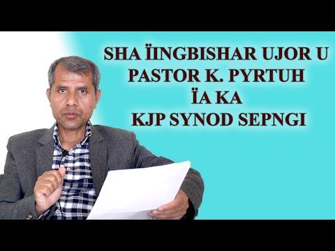 LAH BAN DEI BA NGA PYRSHAH AADHAAR BA NGA SA SHAH 'SUSPEND': PASTOR PYRTUH