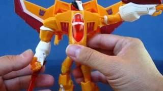 Transformers Animated Sunstorm Vs. Autobot Ratchet