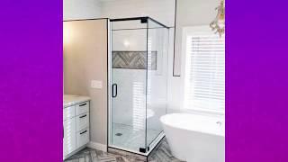 Best Corner Shower Ideas,Corner shower for small bathroom, Bathroom Interior Designs #3