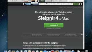 Sleipnir 4 Browser for Mac, from Japan