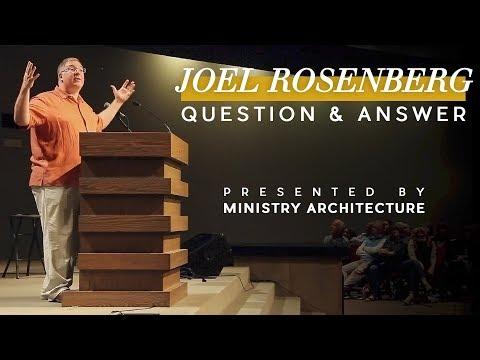 Joel C. Rosenberg Question and Answer September 30, 2017