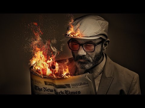 Fire Photo manipulation | Photo manipulation photoshop tutorial | Pavel_design thumbnail