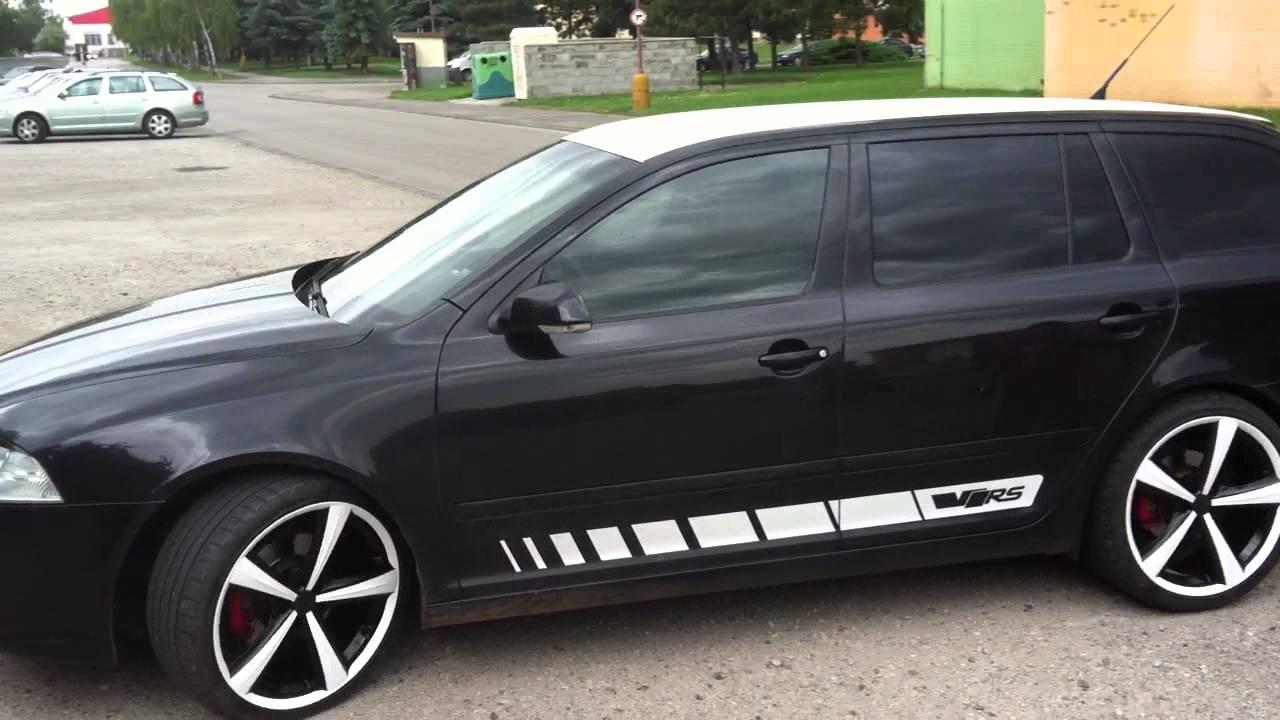 Škoda octavia combi ii 20 tfsi rs youtube