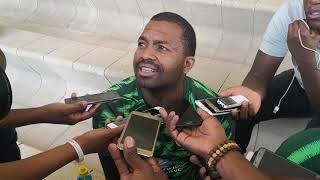 Bafana vs Nigeria build up Khune and Kekana  14/11/2018