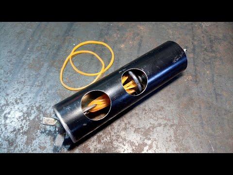 Зажигалка которая работает на резиновых тягах