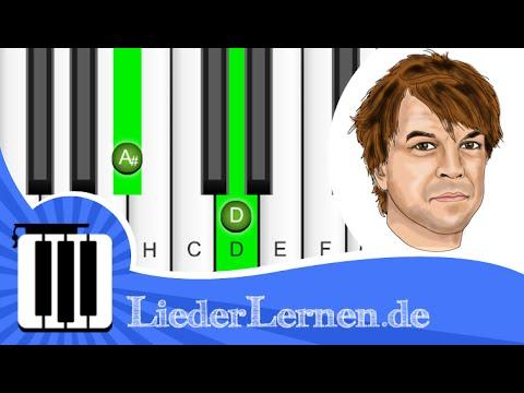 Die Toten Hosen - Alles aus Liebe - Klavier lernen - Musiknoten - Akkorde