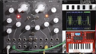 Radical Frequencies DPVCO 2/4: static FM (LMS Eurorack Expansion Project)