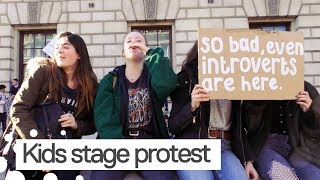 UK Students Stage School Walkout Over Climate Change
