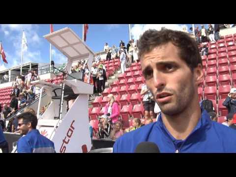 Ramos Vinolas Celebrates First ATP World Tour Title