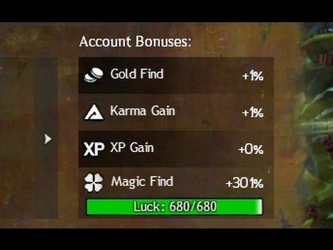 GW2: Magic Find +300%