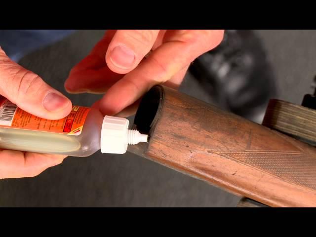 gunstock crack repair how to