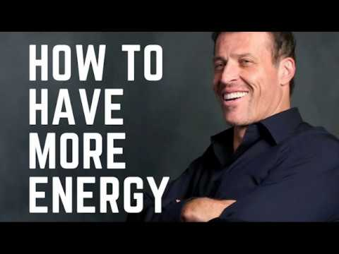Get More Energy and Have A Whole New Life