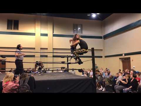 "Gino vs. Terrale Tempo vs. ""50 Caliber"" Barrett Brown - Bayou Independent Wrestling"
