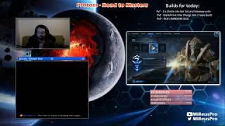 StarCraft II - Protoss Road to Masters EU Server