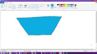 How to Draw and Color Trapezoid Upside Down - Cindy Drawing Shapes