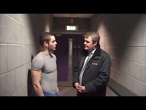 Robert Dowd Post Game Interview - Capitals 27/03/2009