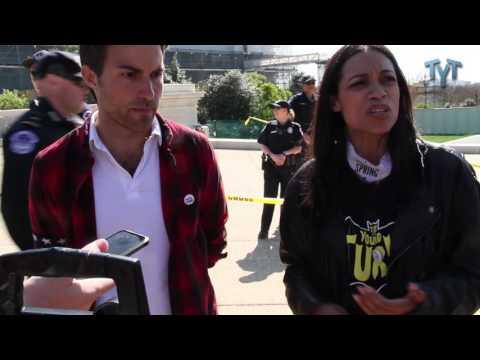 Rosario Dawson On Getting ARRESTED At Democracy Spring