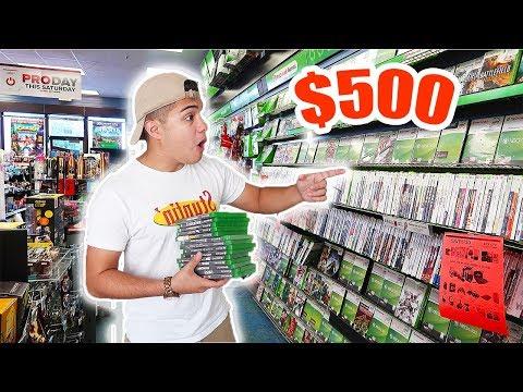 the-$500-gamestop-challenge!!
