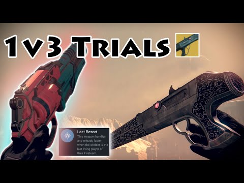 """1v3 Trials w/ Chaperone & Last Resort Palindrome """"it feels pack-a-punched"""" 